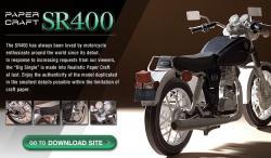 Paper Craft Yamaha SR400