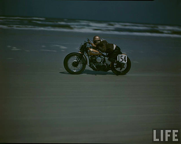 Motorcycle Race, Florida