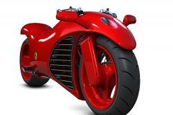 Amir Glinik's Ferrari Motorcycle