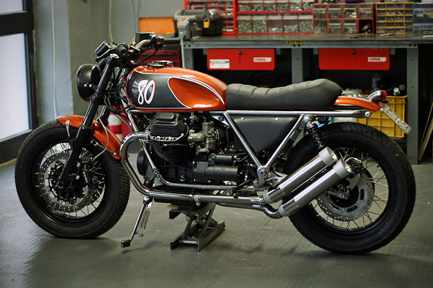 Firestarter Garage Moto Guzzi