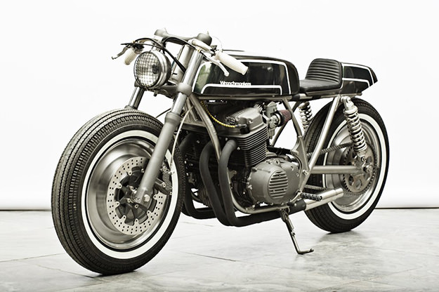 Honda CB750 cafe racer by Wrenchmonkees