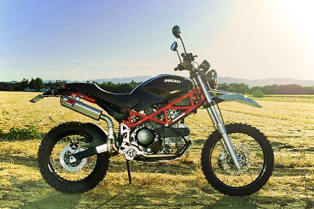 Ducati Terra Mostro dual-sport scrambler