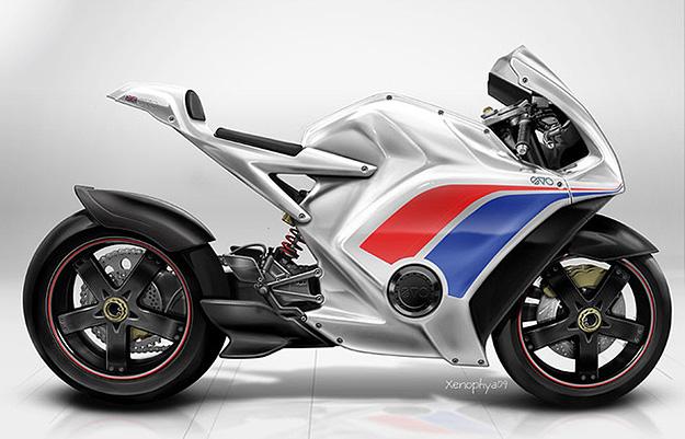 EV-0 RR electric motorcycle