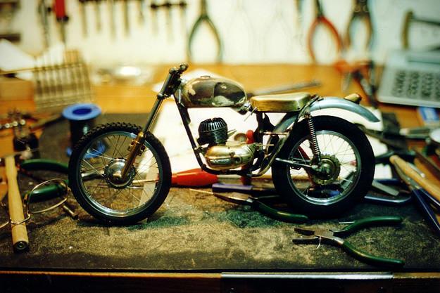 Motoscala Tarrago: Bultaco Sherpa T motorcycle model