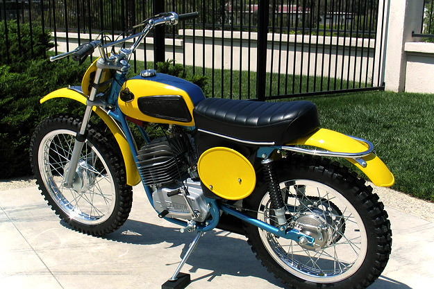 1972 Monark 125 motocross motorcycle