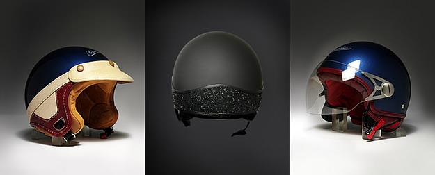 Borsalino designer motorcycle helmets