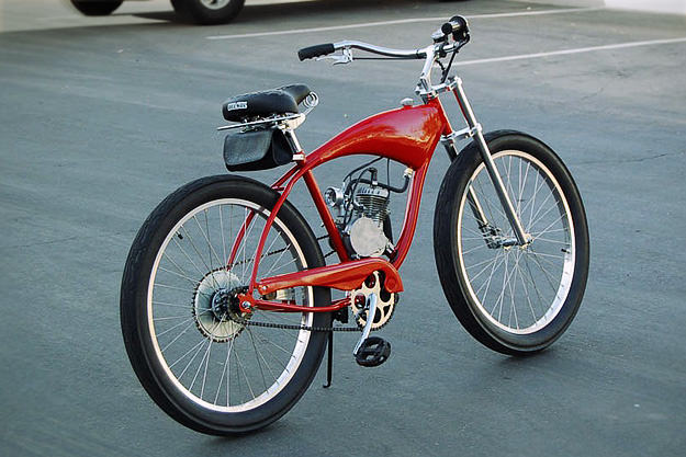 Ducati Cucciolo bicycle reproduction