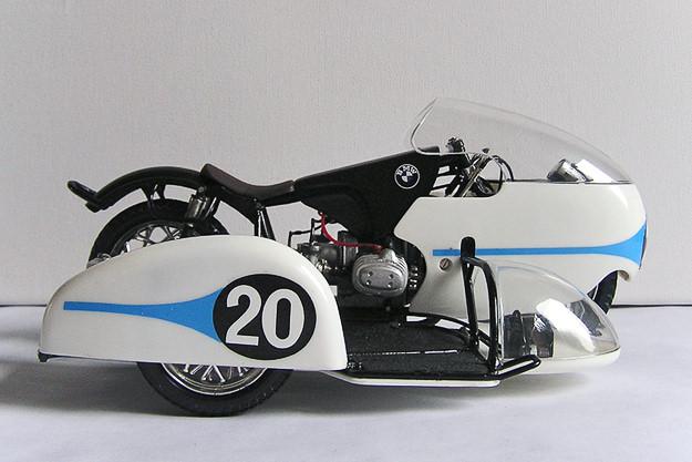 Max Deubel's BMW Rennsport sidecar