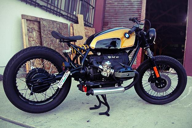 BMW bobber by Rodney Aguiar