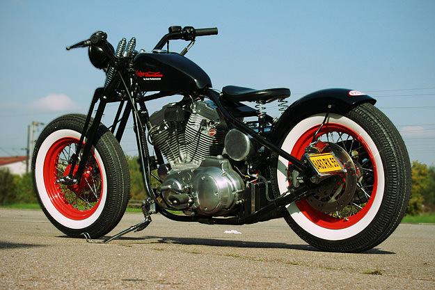 Dub Performance Bob'ster Harley bobber