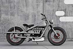 Nimbus bobber motorcycle