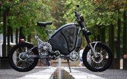 eROCKIT hybrid motorcycle