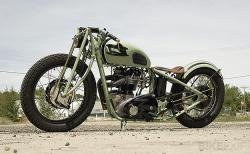 Jano Cycles Triumph bobber