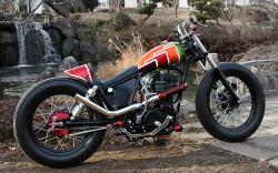 Yamaha SR400 by Luxe Motorcycle