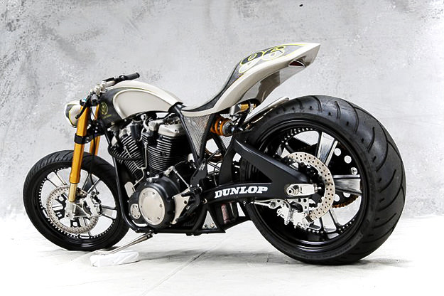 Roland Sands' Renstar custom motorcycle