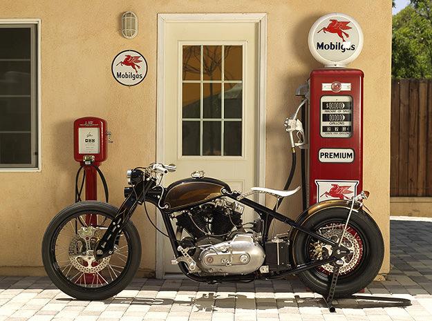 Harley Sportster motorcycle