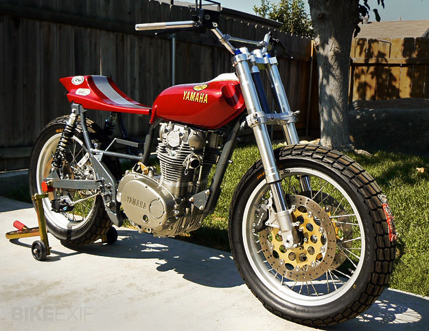 Yamaha XS650 street tracker by Richard Pollock of Mule Motorcycles