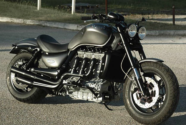 Triumph Rocket custom