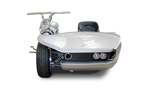 Harley-Davidson V-Rod sidecar concept by Mobec