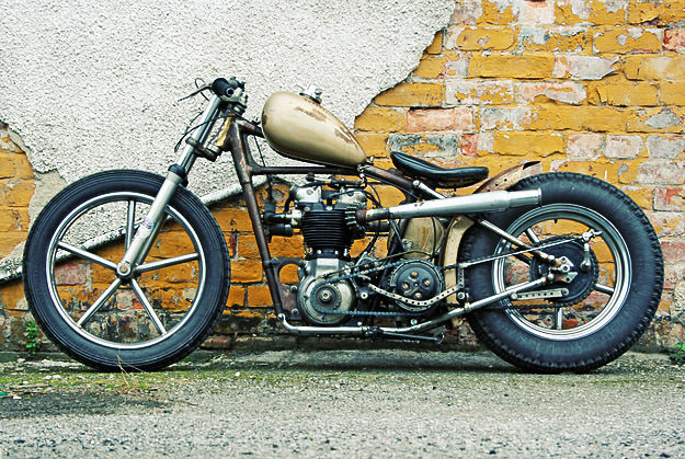 Triumph Thunderbird custom by Pete Stansfield