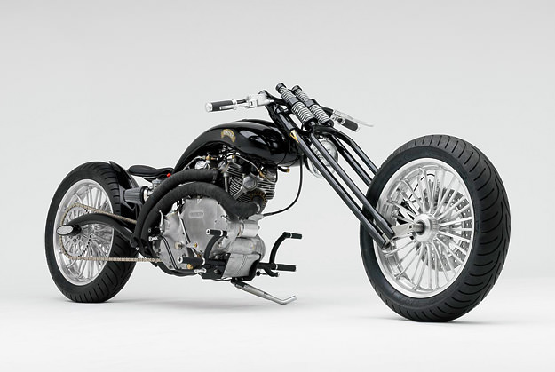 Vincent Black Shadow Chopper