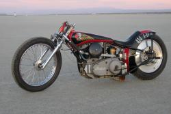 1941 Indian 741 Flathead racer