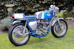 TriBSA motorcycle: 'The Bitch'