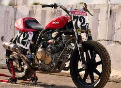A Ducati for the Flat Track