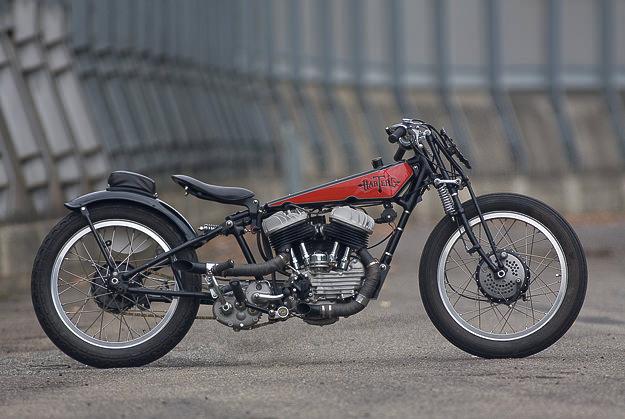 Hatere: a custom that's half Harley WL, Half Terrot