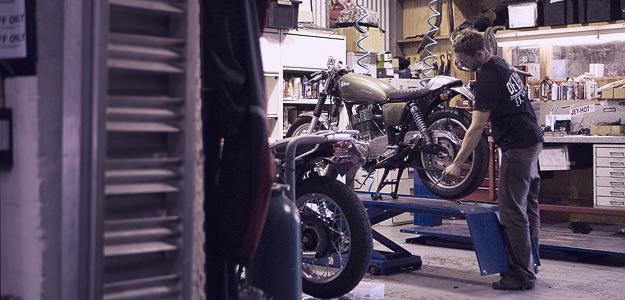 Motorcycle website advertising