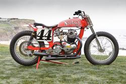 Ron Wood Norton flat track racer