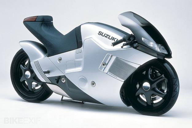 1986 Suzuki Nuda concept motorcycle