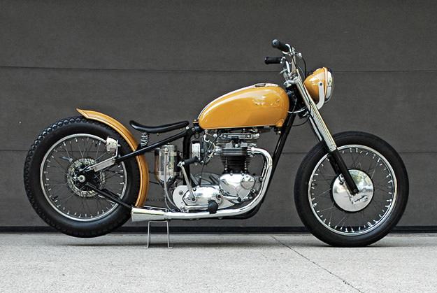1967 Triumph Bonnevile T120R custom motorcycle