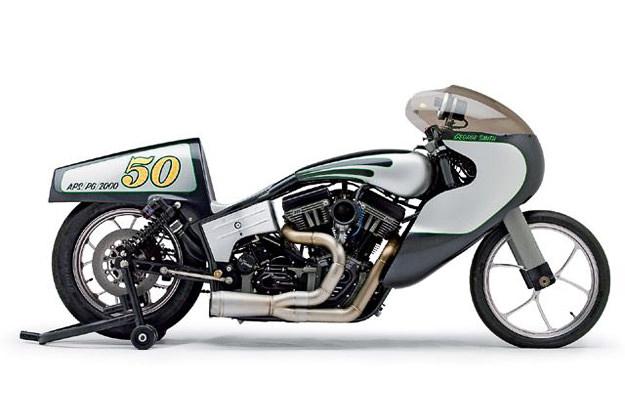 Bennett's Performance G1 custom motorcycle built for the S&S Anniversary