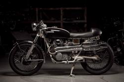 Honda CL350 cafe racer