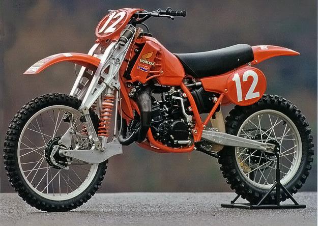 1980 Honda RC125M Twin motocross bike