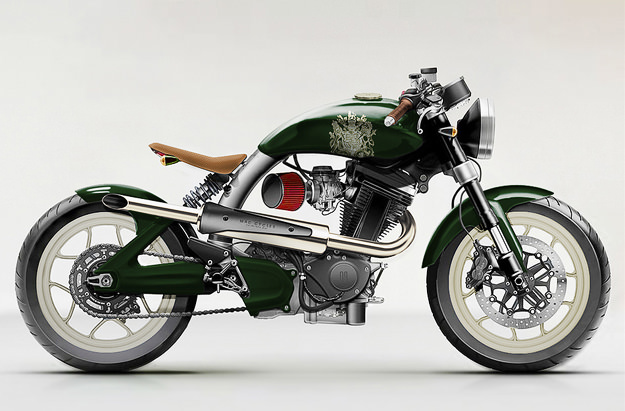 Mac motorcycles designs from Carefully Considered
