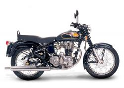 The 50s charm of the Royal Enfield Bullet