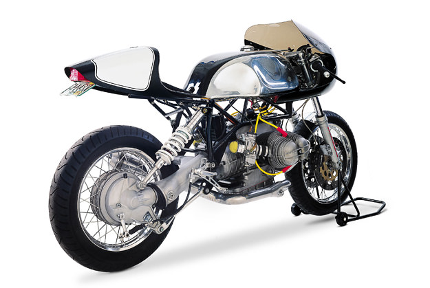 Team Incomplete BMW boxer cafe racer