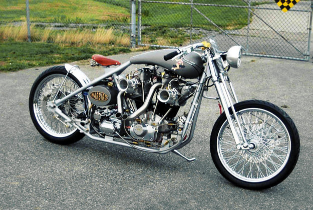 Warbird: the aircraft-engined motorcycle