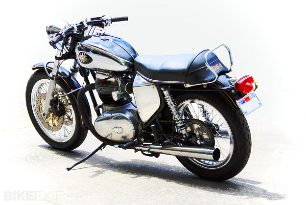 1966 BSA A65 Lightning custom motorcycle