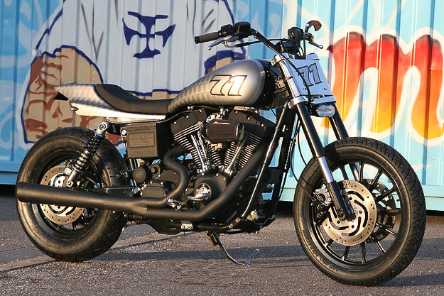 Harley FXDX Super Glide custom motorcycle