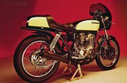 Honda CB550F cafe racer