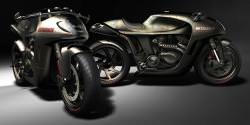 Metalback motorcycle concept