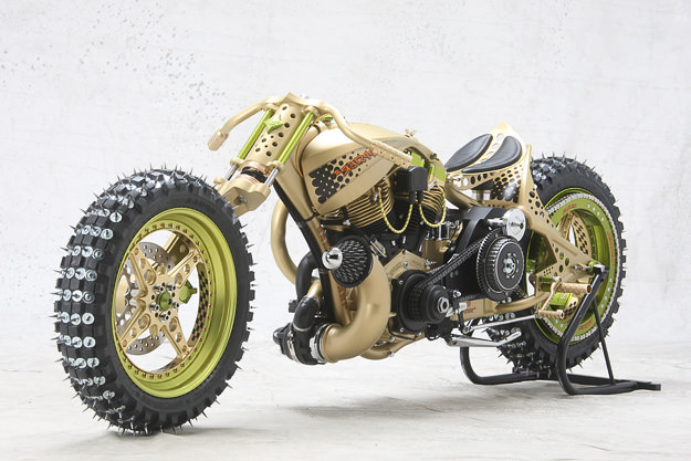 Seppster 2 Ice Racer custom motorcycle by TGS