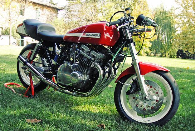 Suzuki GSX1100 Yoshimura tribute custom motorcycle