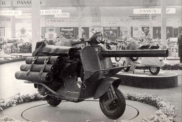 Vespa Militaire TAP scooter