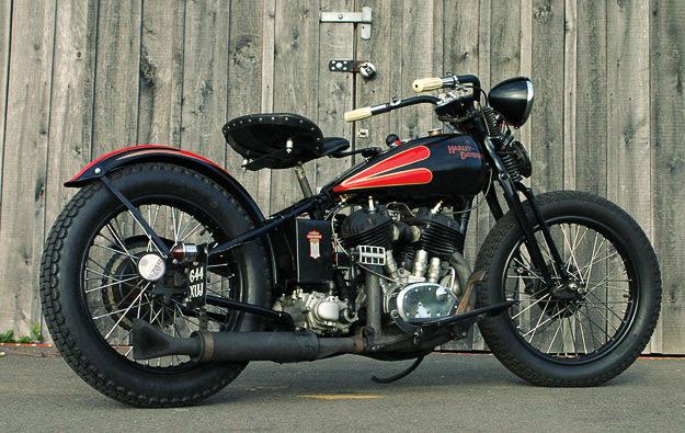 1931 Harley VL Bobber