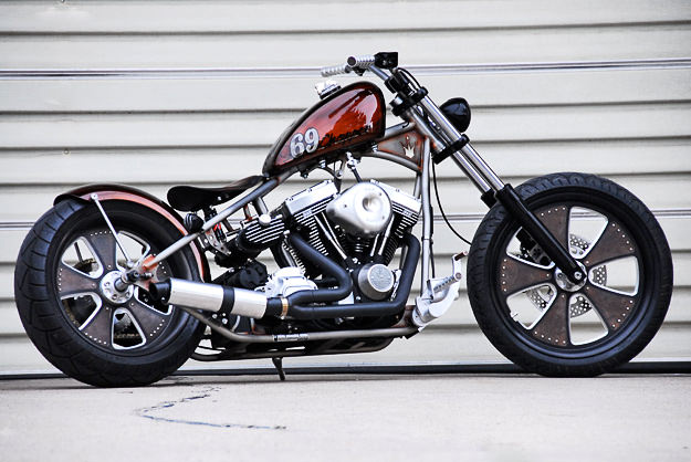 Brass Balls 69 Chopper custom motorcycle