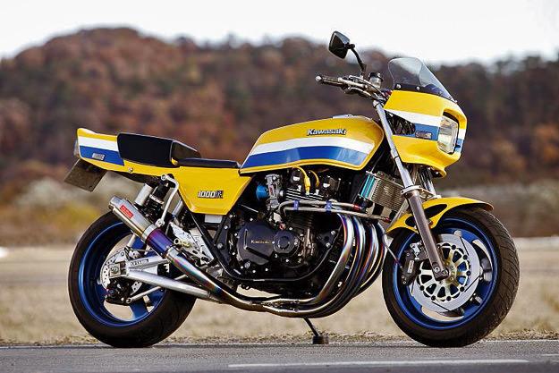 Bull Dock Kawasaki Z1000J | Bike EXIF